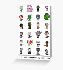 Lil' Monsters - The Usual Suspects Greeting Card