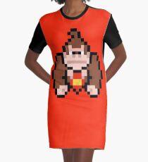 Donkey Kong Graphic T-Shirt Dress