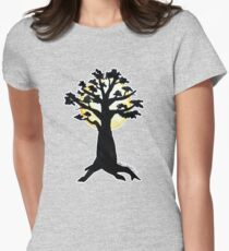 Season Trees: Summer Womens Fitted T-Shirt