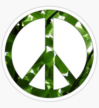 Green Peace Sticker