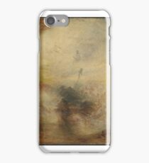 Joseph Mallord William Turner,  Light and Colour (Goethe's Theory) - the Morning after the Deluge - Moses Writing the Book of Genesis exhibite 1843 iPhone Case/Skin