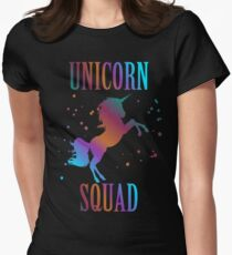 Unicorn Squad Enchanted Rainbow Fantasy Fairy Tale T-Shirt