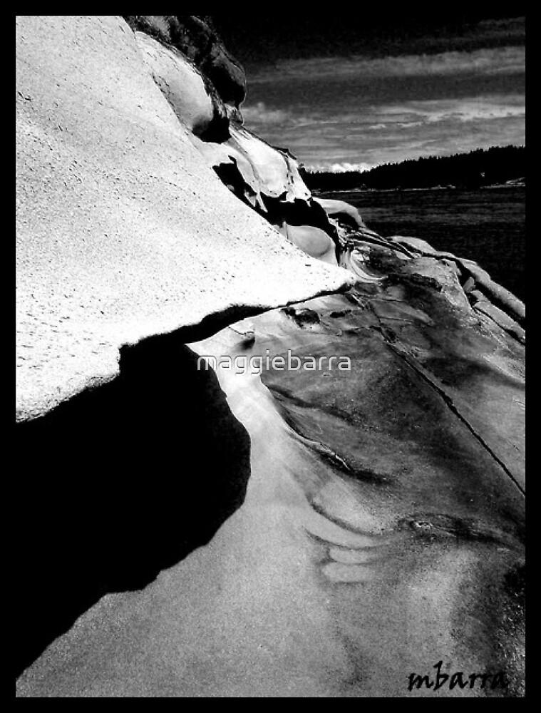 Maine  Cliff by maggiebarra