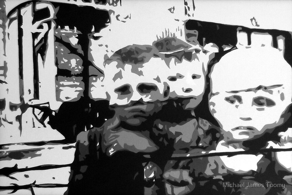 Ghosts of the Warsaw Ghetto II by Michael James Toomy