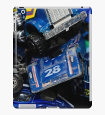 Toy Cars - Blue iPad Case/Skin