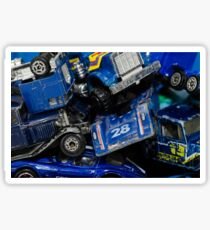 Toy Cars - Blue Sticker
