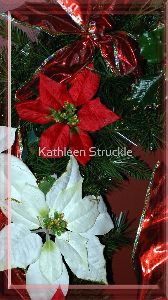 Poinsettia by Kathleen Struckle