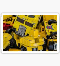 Toy Cars - Yellow  Sticker