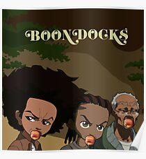 Boondocks X Atlanta Poster