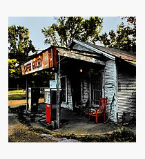 Caffee Grocery Photographic Print
