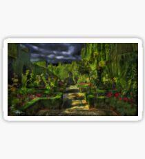Garden Particle • The Alhambra, Granada •Spain Sticker