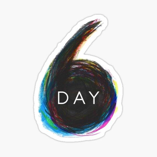 Day6 Logo Pegatina