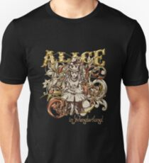 Queen Alice Carnivale Style - Gold Version Unisex T-Shirt