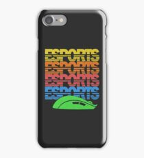 Cascading Vintage Esports Pattern for Gamers iPhone Case/Skin