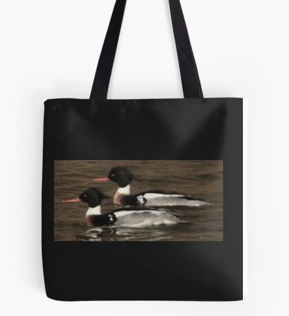 Red-Breasted Merganser's Tote Bag