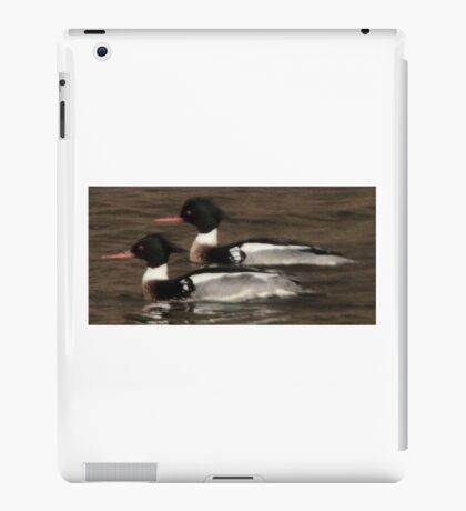 Red-Breasted Merganser's iPad Case/Skin