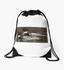Red-Breasted Merganser's Drawstring Bag