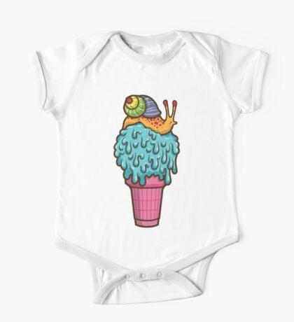 Crazy Snail Cone Kids Clothes