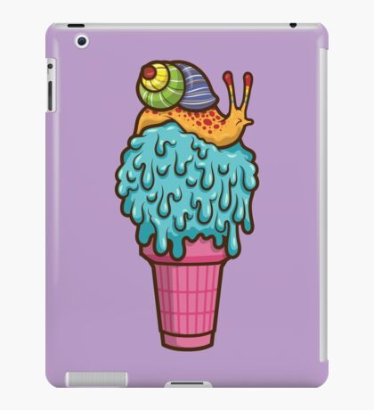 Crazy Snail Cone iPad Case/Skin