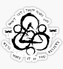 Coheed and Cambria Scare You Sticker