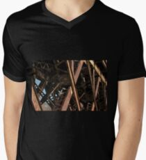 X Mens V-Neck T-Shirt