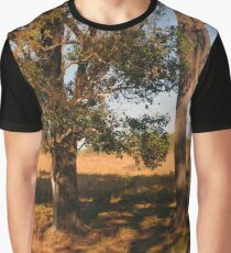 Farm Series - Trees with Reflection Graphic T-Shirt
