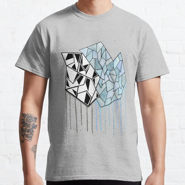 Abstract Watercolor Geometry  Classic T-Shirt