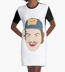 Mac head Graphic T-Shirt Dress