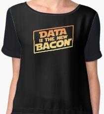 Data Is The New Bacon Women's Chiffon Top