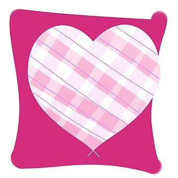 Pink Patterned Heart by ImaginingThis