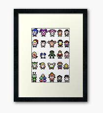 Sonic and Sega All-Stars Framed Print