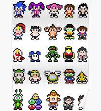 Sonic and Sega All-Stars Poster