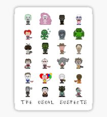 Lil' Monsters - The Usual Suspects Sticker