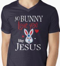 No Bunny Loves You Like Jesus Shirt - Funny Easter Shirts T-Shirt