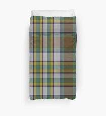 Northern Ontario District Tartan  Duvet Cover