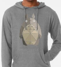 Origami Totoro Lightweight Hoodie
