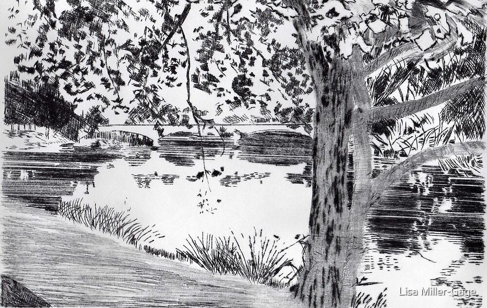 Yarra River by Lisa Miller-Gage