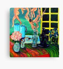 Still LIfe After Matisse Canvas Print