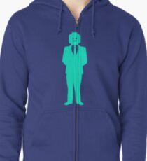 Minifig Business Man  Zipped Hoodie