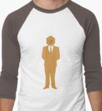 Minifig Business Man Men's Baseball ¾ T-Shirt