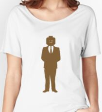 Minifig Business Man Women's Relaxed Fit T-Shirt