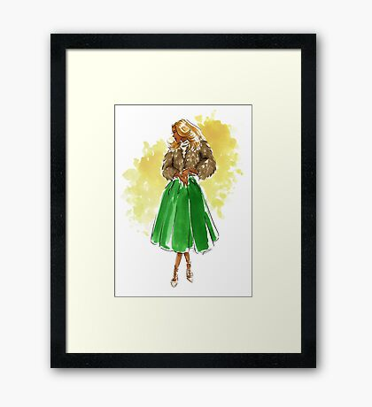 Holiday Style Framed Print
