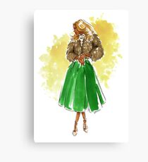 Holiday Style Canvas Print
