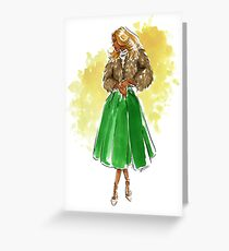 Holiday Style Greeting Card
