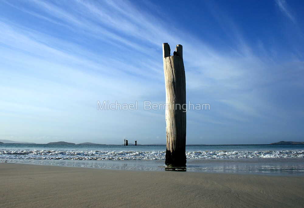 Jetty....a while ago by Michael  Bermingham