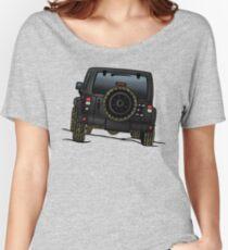 Jeep Wrangler JK [Black] Women's Relaxed Fit T-Shirt