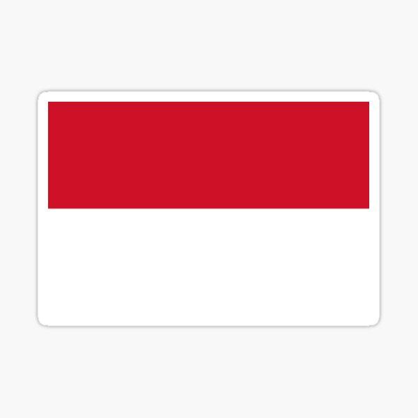 Indonesia Indonesian Flag Sticker