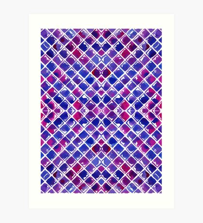 Diamonds Art Print
