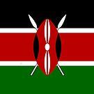 Kenya Kenyan Flag by finirat