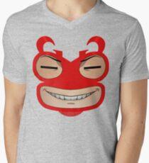 Sly Grin Mens V-Neck T-Shirt